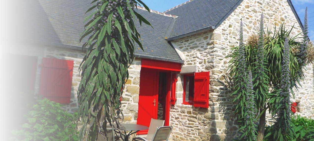 Santec Bretagne, gites de vacances Ti Kozh et Ti Fanta